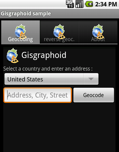 Gisgraphoid screenshots